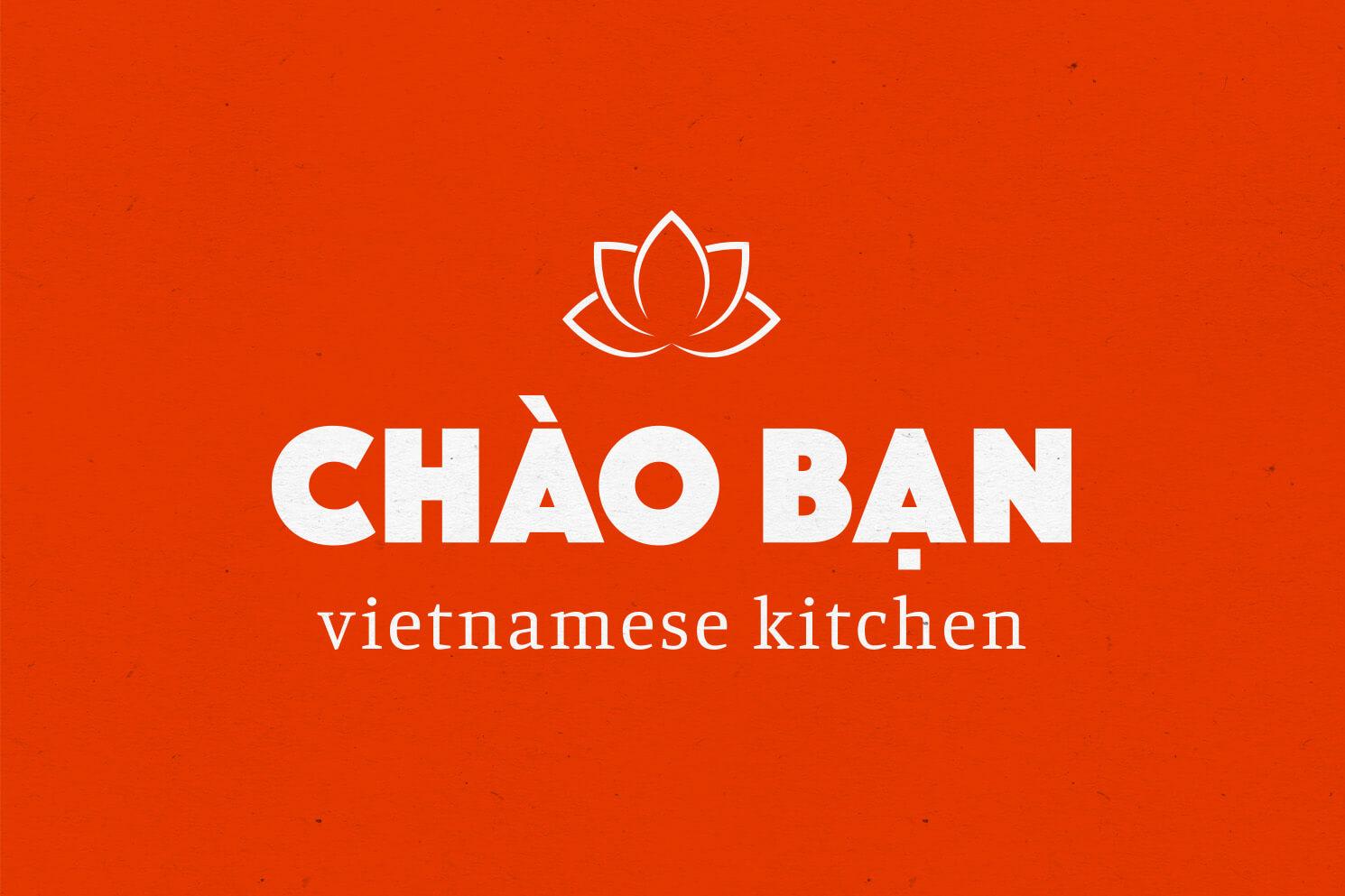Chao Ban Logo Orange