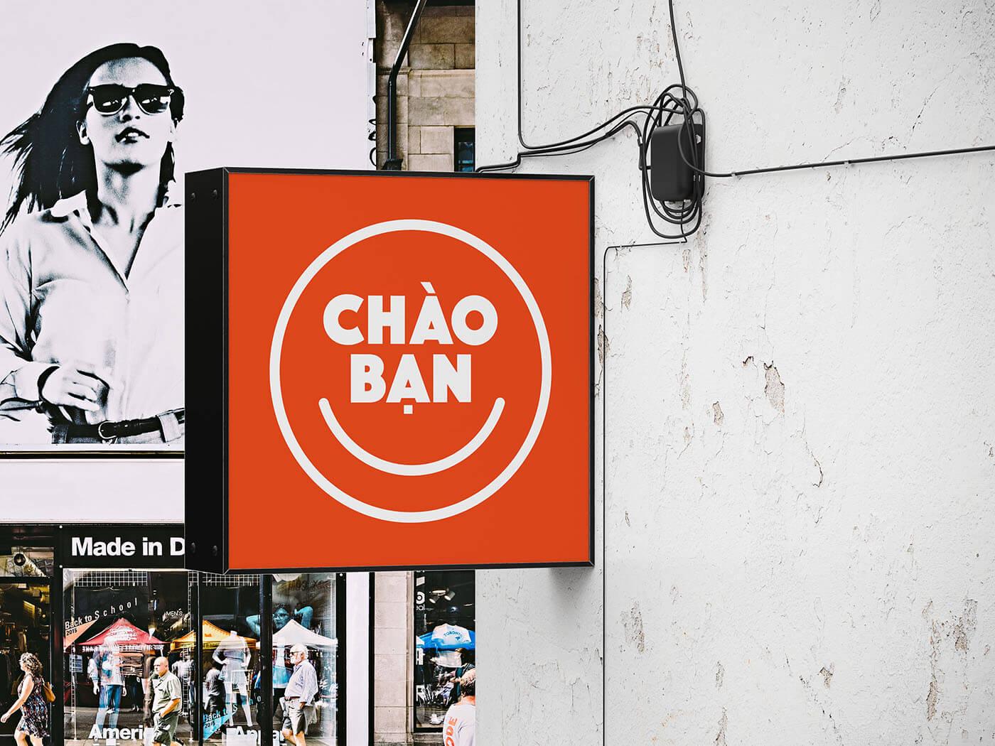 Chao Ban Signage Logo