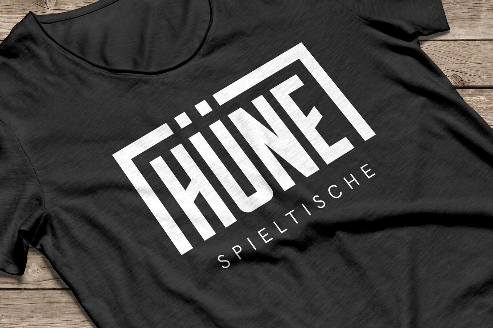 HÜNE Branding Shirt Logo