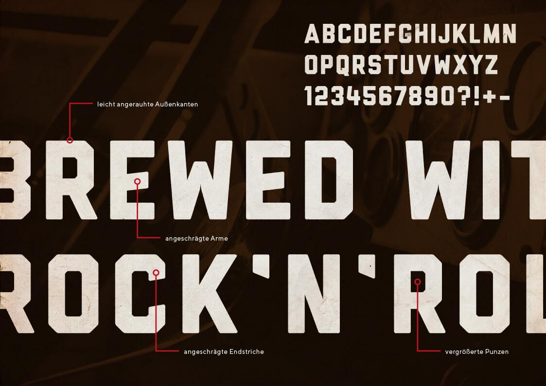 Motor Kola Launchkampagne Headline Typografie