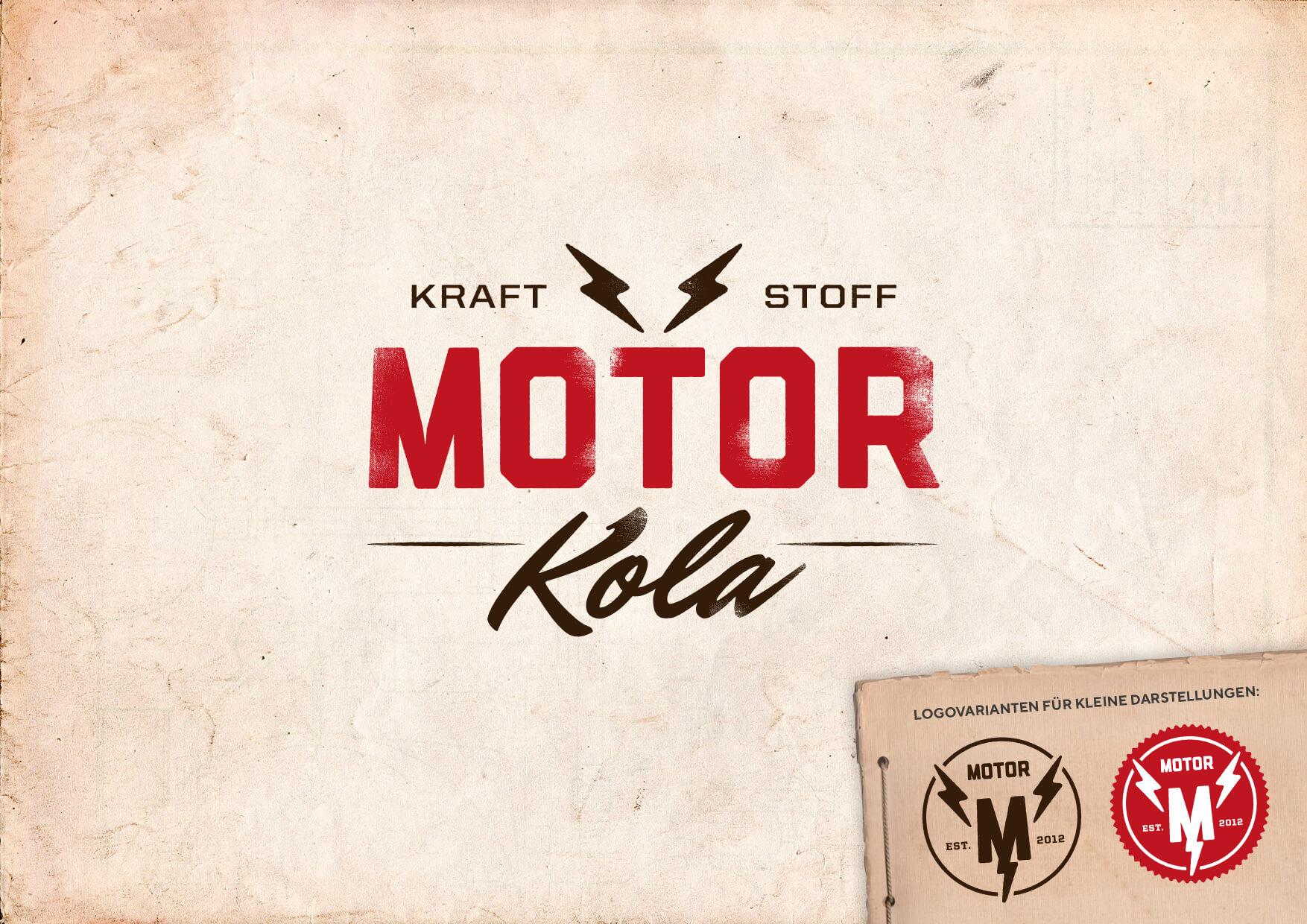Motor Kola Branding Logos