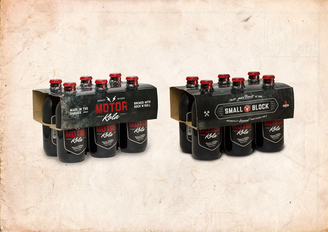 Motor Kola Packaging Small Block Sixpack