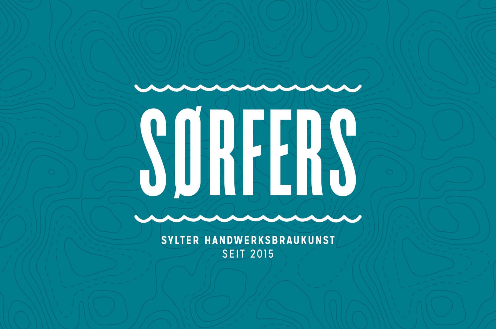 Sørfers Branding Logo