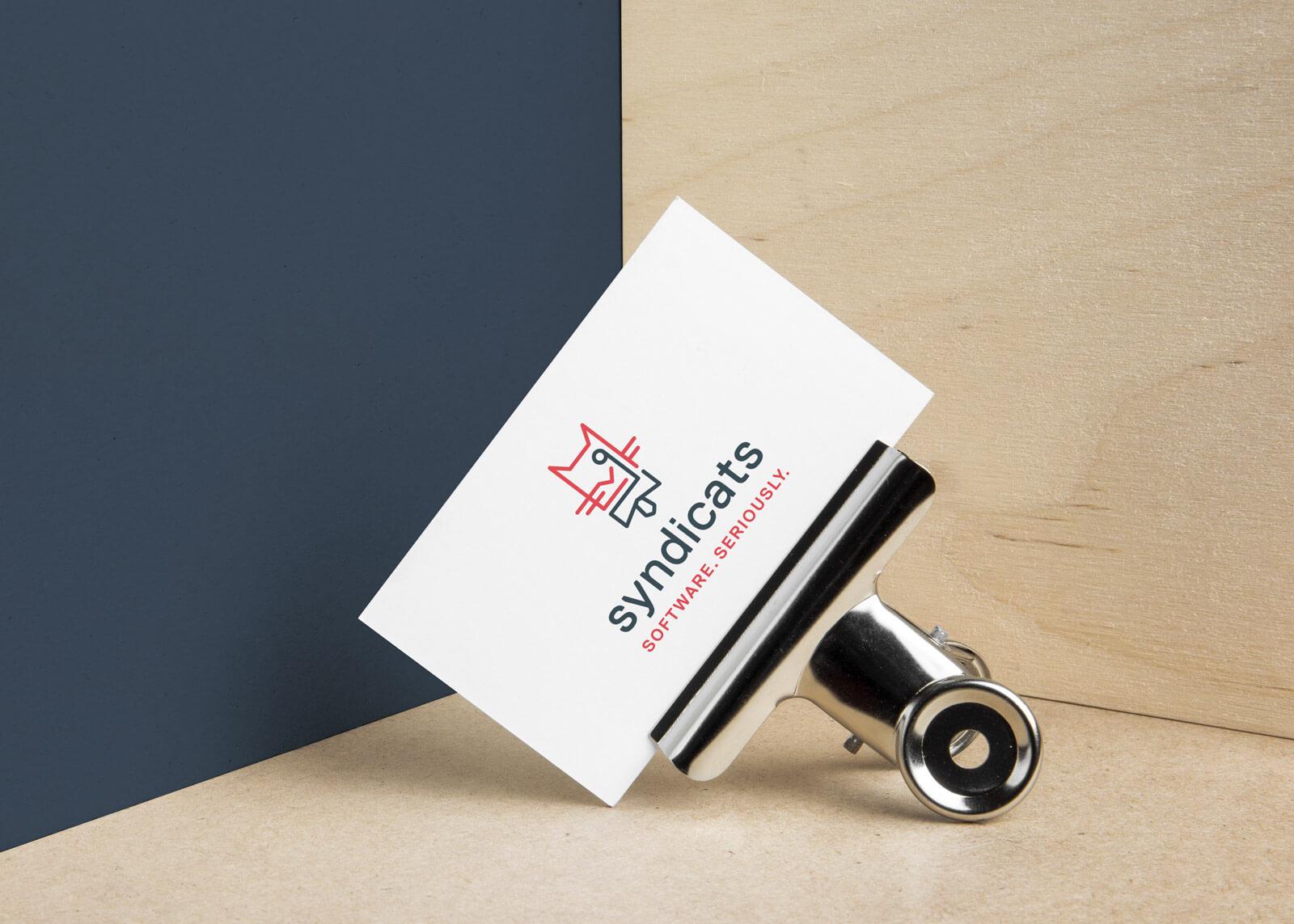Syndicats Branding Business Cards Visitenkarten